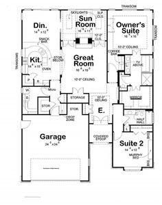 High ranch home designs