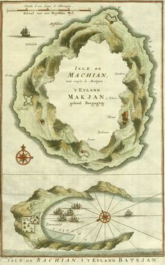 Spice Islands (Moluccas), 1750