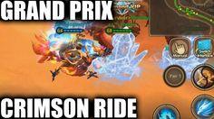Taichi Panda Heroes | Mount Gameplay & Grand Prix! (Crimson Ride)