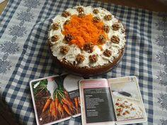 Worteltaart met vanille mascarpone vulling, gratis recept van de Spar