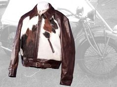 de70365ffd7 Palomino leather jacket - Heavy FQ Horsehide   Horsehair - Aero Leathers