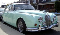 Can I have this please? I love vintage cars. - Vintage Jaguar Mark II