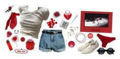 when you're blue, i'm red. i want to kiss your neck and make you purple by legitlucid on Polyvore featuring polyvore moda style Hot Anatomy TC Fine Intimates Chanel Patch Ya Later CO Retrò fashion clothing