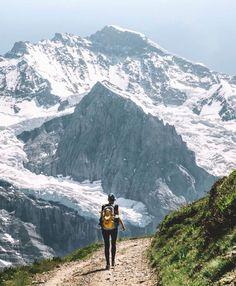 Walking the Eiger Trail #outdoor #Switzerland  Article à lire sur le blog madebymaider.com #LandscapeMountain