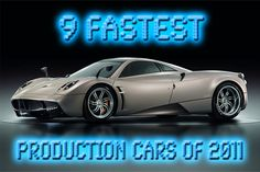 Photos of Fastest Production Cars For 2012