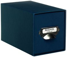 Rössler 1327452900 CD Drawer Storage Box, One Colour Navy: Amazon.co.uk: Office Products