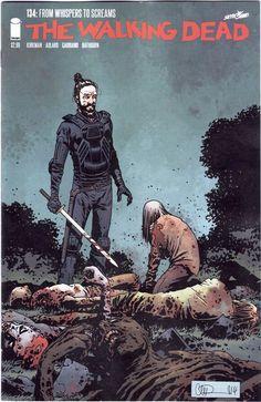 Walking Dead #134 NM Jesus and Whisperers Cover.  Kirkman, Adlard, Gaudiano