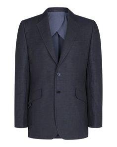 Linen /Cotton 1 button blazer (Mahler) - Blazers at Nigel Hall #menswear #nigelhall