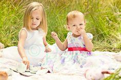 Poetic Spectre Imaging: It's a Tea Party!  Child portrait session ♥