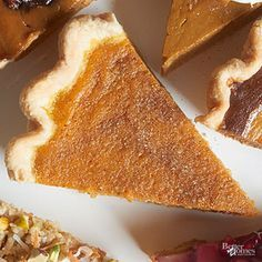 Give classic pumpkin pie an elegant update with cardamom and buttermilk. Top the whole thing off with spiced sugar. /