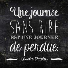 QuotesViral, Number One Source For daily Quotes. Leading Quotes Magazine & Database, Featuring best quotes from around the world. Daily Quotes, Best Quotes, Words Quotes, Wise Words, Charles Chaplin, French Quotes, French Phrases, Learn French, Cool Words