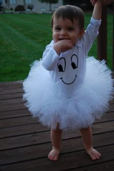 Baby girl ghost costume