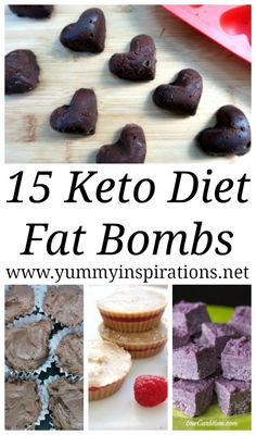 15 Keto Fat Bombs - Easy Low Carb & Ketogenic Diet friendly fat bomb recipes including chocolate, cream cheese, peanut butter, dairy free and more! #fatbomb #fatbombs #keto #ketorecipes #ketodiet #ketogenic #ketogenicdiet #ketosis