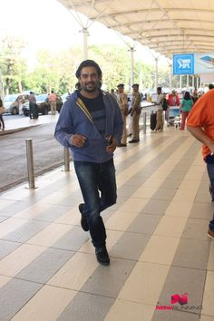 R Madhavan Snapped At Domestic Airport