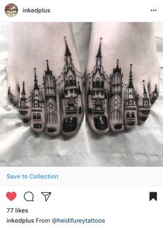 These toe tattoos😍♥ Know someone who should have this done? Trendy Tattoos, Small Tattoos, Tattoos For Guys, Tattoos For Women, Toe Tattoos, Body Art Tattoos, Sleeve Tattoos, Tatoos, Tattoo Studio