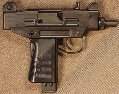 UZI pistol, right side. Weapons Guns, Guns And Ammo, Battle Rifle, Arms Race, Tactical Equipment, Submachine Gun, Fire Powers, Military Guns, Assault Rifle