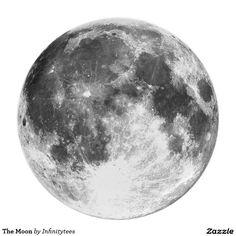 Der Mond Flacher Teller