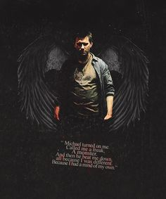 Lucifer - '' I was a son. A brother, like you, a younger brother, and I had an older brother who I loved. Idolized, in fact. And one day I went to him, and I begged him to stand with me. '' #Supernatural