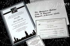 ideas for invitations and/or save the dates