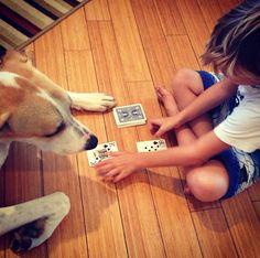 E é por isso que toda criança deveria crescer com um cão.