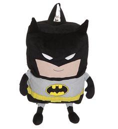 Adorables mochilas de Batman y Superman