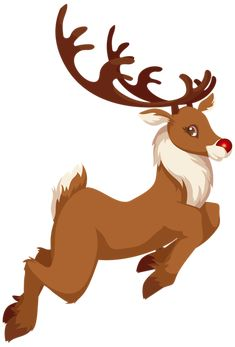 Christmas Rudolph PNG Clip Art Image