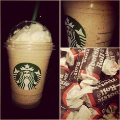 Bring back your childhood memories with the *TOOTSIE ROLL FRAPPUCCINO* from our SecretStarbucks.com Menu!