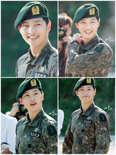 Song Joong-ki Yoo Shi-jin Descendants of the sun Park Hae Jin, Park Seo Joon, Song Joong, Song Hye Kyo, Drama Korea, Korean Drama, Asian Actors, Korean Actors, Descendants