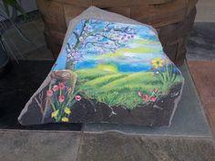 painted grainte in Home & Garden, Yard, Garden & Outdoor Living, Garden Décor | eBay