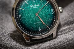 The Glashütte Original Sixties Ref. 1-39-52-03-02-04 With Green Dial