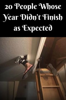 20 People Whose Year Didn't Finish as Expected