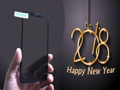 Happy New Year 2018! Happy New Year 2018, Glass Screen Protector