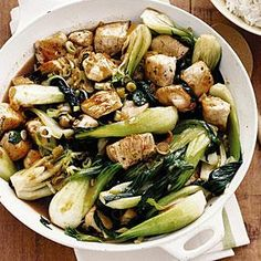 Pork bok choy stir-fry recipes