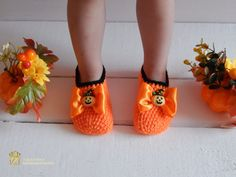 Hey, I found this really awesome Etsy listing at https://www.etsy.com/listing/243595221/orange-crochet-slippers-to-halloween