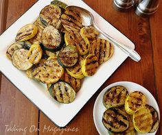 Grilled Zucchini and Summer Squash via Taking On Magazines