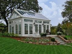 DREAM !!!!Conservatory greenhouse by Creative Conservatories #conservatorygreenhouse
