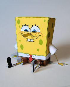 Sponge Bob-Print and paste