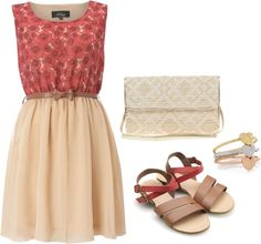 Rosy, created by spanwayhits on Polyvore