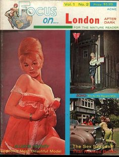 Focus On vol 1 no 2 1963 vintage adult straight magazine collectible