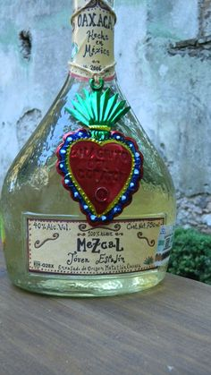 If you go to Mexico  ...  you have to try Mezcal .... (or not)