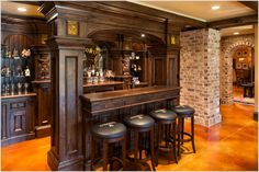 traditional wood bar - Google Search
