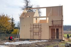 SIngle family house 90 sqm CLT-Cross Laminated Timber  Designed and built by www.modus-house.pl