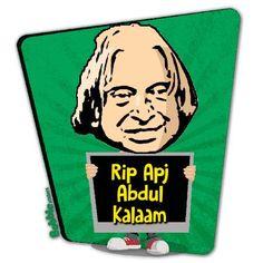 #KalamSir rip @APJAbdulKalam @narendramodi @PMOIndia @PresidentINDIA @BobbleApp http://bobble.in/ns rest in peace