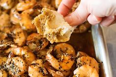 Pioneer Woman recipe - Spicy Shrimp, gotta serve it with a crusty baguette