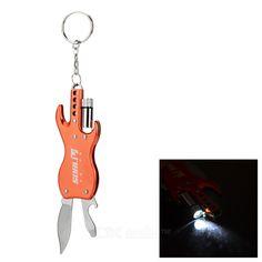 SDBL Multifunction Keyring + LED Light + Knife + Bottle Opener From 8,95 for Euro 5,25