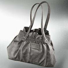 Simply Vera Vera Wang Ruched Shoulder Bag
