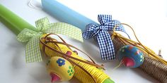 easter candle - without the toy Easter Projects, Cute Diys, Candles, Crafts, Stuff To Buy, Easter Candle, Eggs, Toy, Bracelets