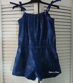 short jumpsuits for women Girl Dress Patterns, Blouse Patterns, Skirt Patterns, Kaftan Pattern, Sewing Barbie Clothes, Maxi Dress Tutorials, Crochet Romper, Baby Couture, Dress Hats