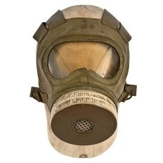 WWII Japanese Civilian Gas Mask now featured on Fab.