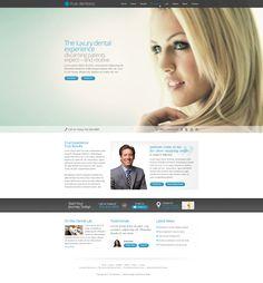 Dental website design #responsive #medical #dental #dentist #website #web #design Dental Websites, Dentist Website, My Design, Design Ideas, Website Web, Medical Dental, Dentistry, Dental
